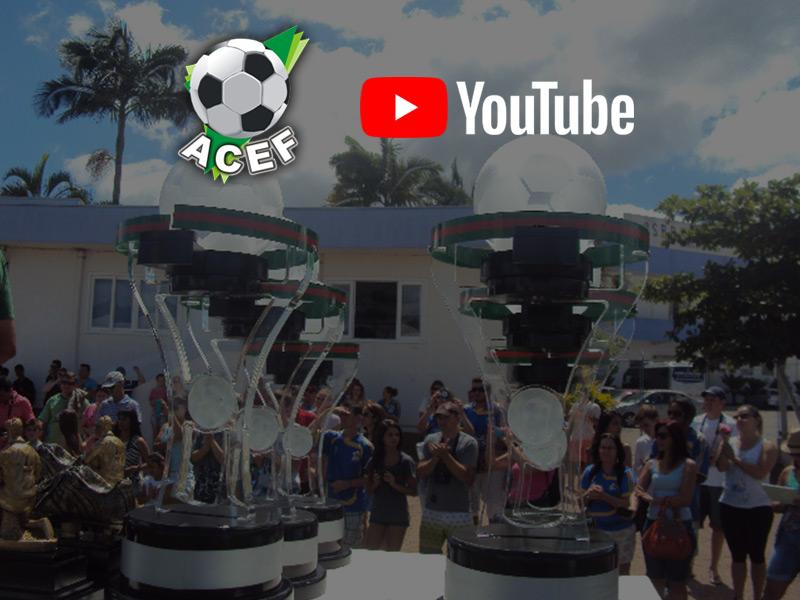 Canal da ACEF no Youtube