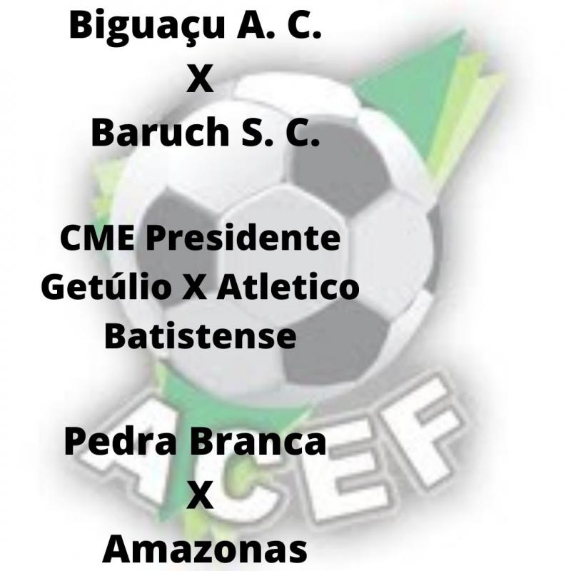Finalmente começou a Copa ACEF Sub 20